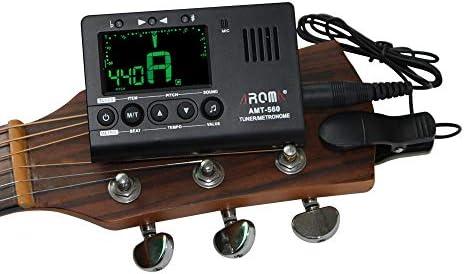 AMT-560 - Micrófono integrado con cable para guitarra eléctrica, 6 ...