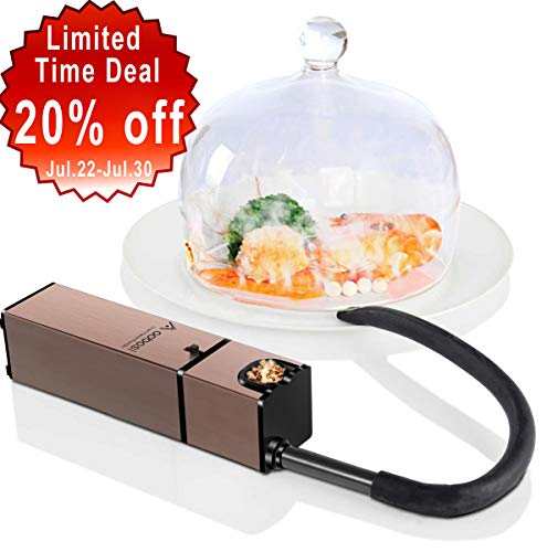 AAOBOSI Aobosi Portable Infusion Smoker,Handheld Smoking Gun for BBQ, Sous Vide, Meat, Veggies, Fruit, Cocktail,Cheese|Mini Food Smoker for Indoor and Outdoor Gatherings,Fashion Design ()