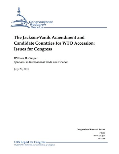 The Jackson-Vanik Amendment and Candidate Countries for WTO Accession: Issues for Congress (Jackson Imports)