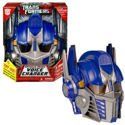 Hasbro Transformers Optimus Prime Voice Changer Helmet]()