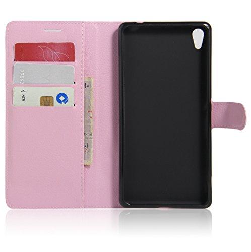 Funda Sony Xperia XA ultra,Manyip Caja del teléfono del cuero,Protector de Pantalla de Slim Case Estilo Billetera con Ranuras para Tarjetas, Soporte Plegable, Cierre Magnético F