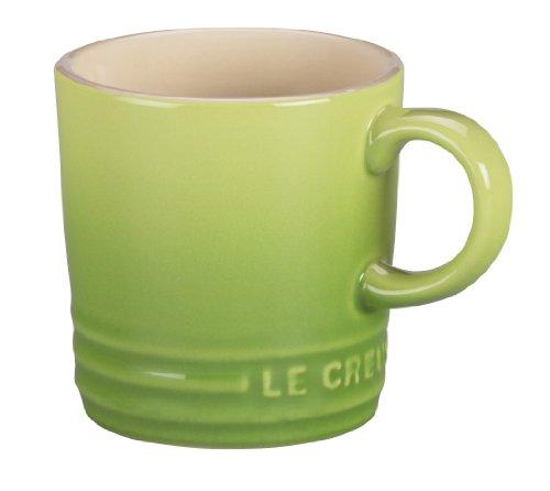 Le Creuset PG8005-004P Stoneware Petite Espresso Mug, 3.5 Ounce, Palm