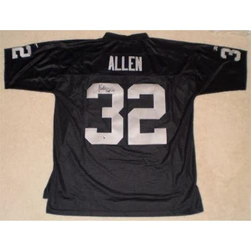 marcus allen signed jersey