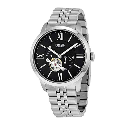 Fossil Men's ME3107 Analog Display Automatic Self-Wind Silver Watch