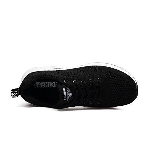 Course Cours Chaussures Kashiwu Jogging Noir D'excution De Formateur Gym Chocs Lgres Absorbant Unisexe Air Les Sports Fitness Formateurs En 4w41gA