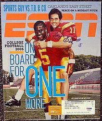 Reggie Bush Signed ESPN Magazine Cover USC Trojans - PSA/DNA Authentication - Autographed NCAA College Football Memorabilia