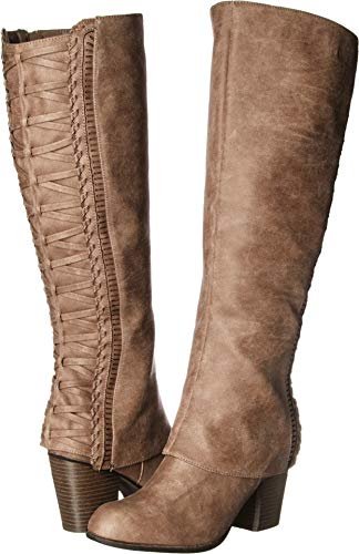 Fergalicious Women's Tender Knee High Boot, doe, 9 M US