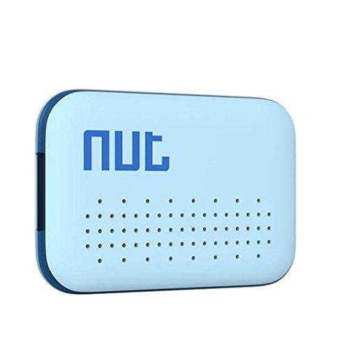 GBSELL Nut Mini Smart Tag GPS Tracker Bluetooth Anti-lost Alarm Key Finder Locator (Blue) (Key Nut Pro)