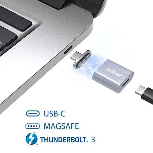 USB C to Magsafe Converter ,Belker 3 in 1 USB-C to Magsafe  Adapter for Magsafe,USB-C and Thunderbolt 3 by BelkerTech
