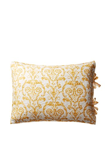 C&F Home 89969.2127 Florence Standard Sham, Gold/White, 20