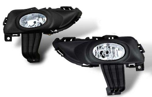 03-05 Mazda 3 4dr OEM Style CLear Fog Lights