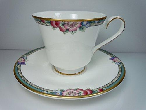 ROYAL DOULTON ORCHARD HILL TEA CUP & SAUCER NEW - UK MADE