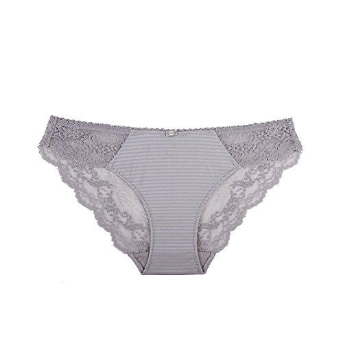 ZRDMN Women's Lace Thongs Sexy Cheeky Panties Thongs Underwear Bikini Cheeky Panty G-String Condole Belt Thongs T-string pants Thread the fluoro civil cotton ()