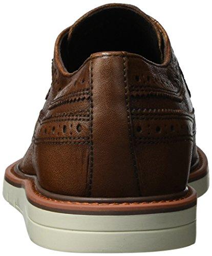 Geox U Uvet a, Zapatos de Vestir para Hombre Marrón (Cognacc6001)