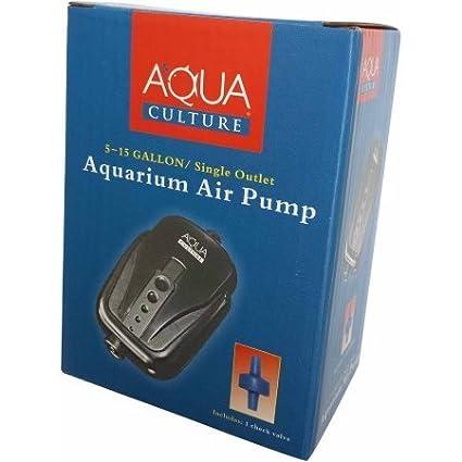 Amazoncom 20 60 Gallon Aquarium Air Pump by Aquaculture Pet