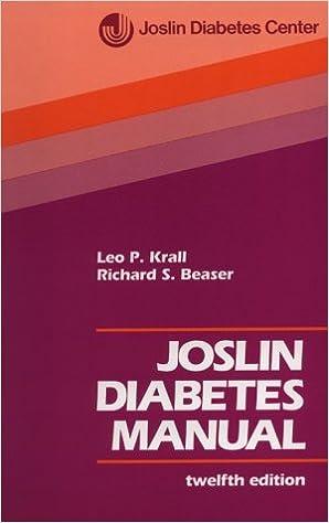 Joslin Diabetes Book