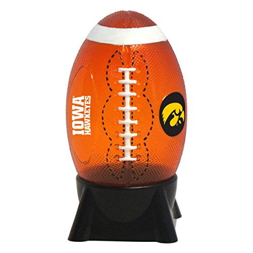 Iowa Hawkeyes Lamp - NCAA Iowa Hawkeyes Football Shaped Night Light
