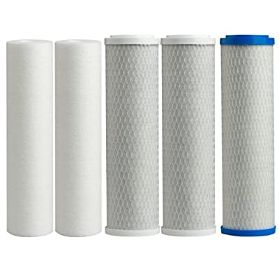 Watts Premier Watts Premier 500124 WP-4V Replacement Filter Pack for Reverse Osmosis System