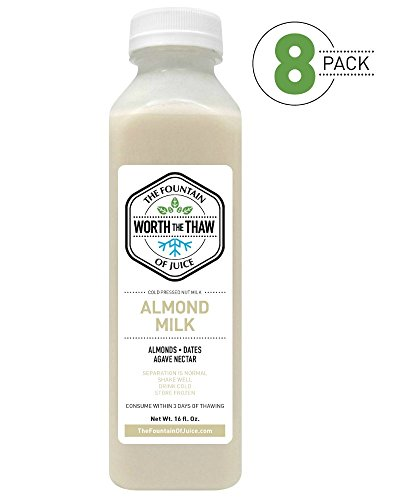 natural almond milk - 6