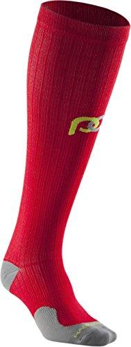 PRO Compression: Marathon (Full-Length, Over-the-Calf) Compression Socks, Red, Large/X-Large