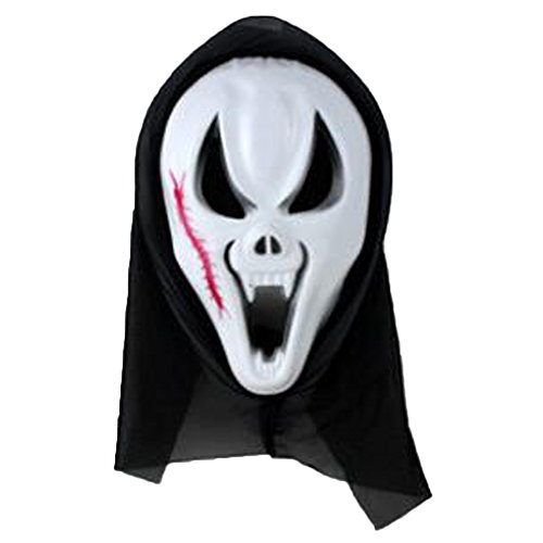 XHSP Halloween Skeleton Ghost Mask Masquerade Party Trick Grimaces (Skeleton Halloween Mask)