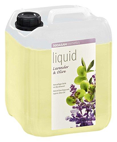 SODASAN LIQUID Lavendel-Olive 5 Liter - ökologische Bio Seife flüssig (Bio Flüssigseife)