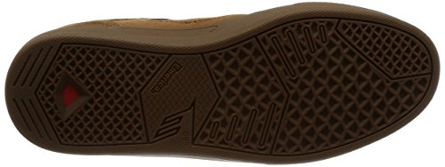 Emerica Mens Reynolds G6 Scarpa Da Skate Brown / Gum