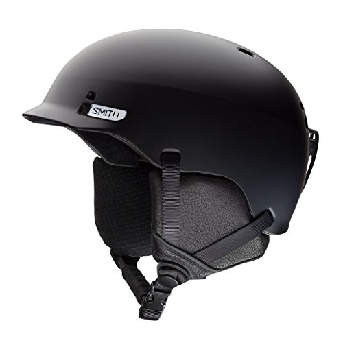Smith Optics Gage Adult Ski Snowmobile Helmet - Matte Black / - Sunglasses Al Mobile