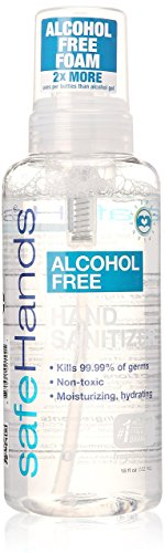 SafeHands Alcohol Sanitizer Fragrance Packaging product image