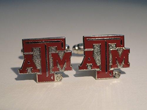 Texas A&M University Cufflinks--Authorized Cuff Links ()