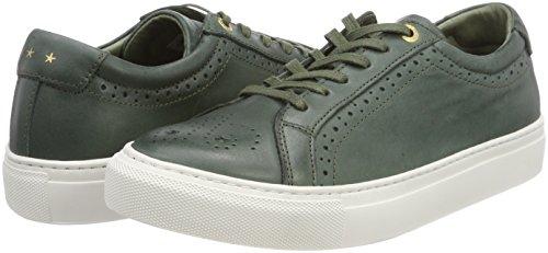 Pantofola Olive Low para Mujer Napoli Donne Zapatillas d'Oro Verde rHg8RPqrt