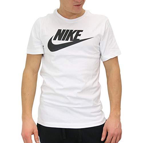 shirt Icon Futura Bianco M Nike T nero Tee Nsw zdpxSq