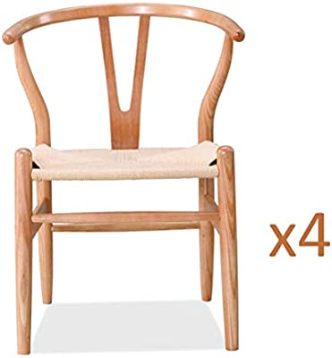 Sensational Amazon Com Home Modern Dining Kitchen Chairs Modern Wood Unemploymentrelief Wooden Chair Designs For Living Room Unemploymentrelieforg