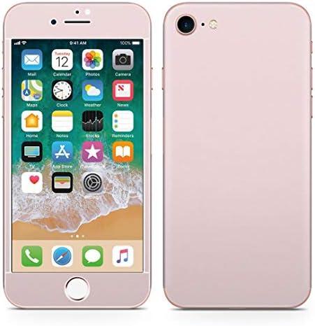 igsticker iPhone SE 2020 iPhone8 iPhone7 専用 スキンシール 全面スキンシール フル 背面 側面 正面 液晶 ステッカー 保護シール 008951 その他 シンプル 無地 ピンク