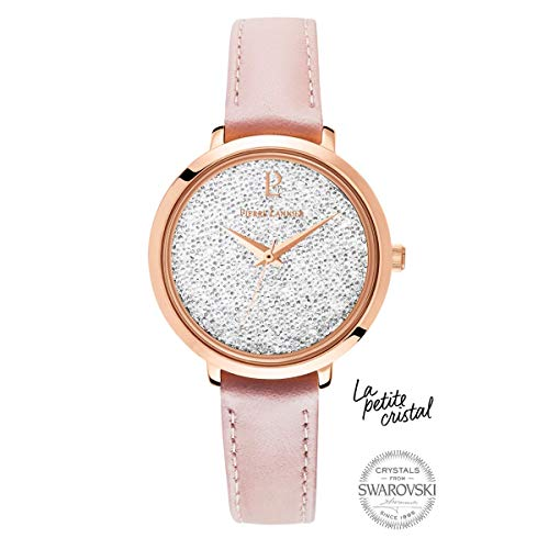Pierre Lannier La Petite Swarovski Crystal Pink Ladies Watch