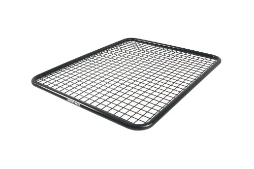 Rhino-Rack USA RPBM Mesh Tray 53 in. x 43 in. Black Powdercoated Zinc Plated Steel Requires U-Bolt Fitting Kit Mesh Tray by Rhino Rack