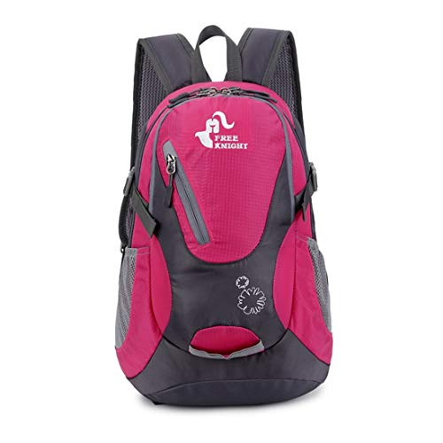 Ploekgda alpinismo colore per Rose coppia Outdoor Backpack Red 25l per Travel blu Nylon impermeabile Borsa Cycling a tracolla SqxXIwr6SR