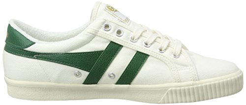 Uomo White Scarpe Tennis Ginnastica Green Off Basse Gola da Dark Avorio Xf1PwXx