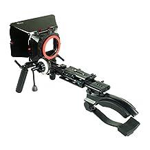 PROAIM DSLR shoulder Mount Kit-3 with Matte Box and follow Focus