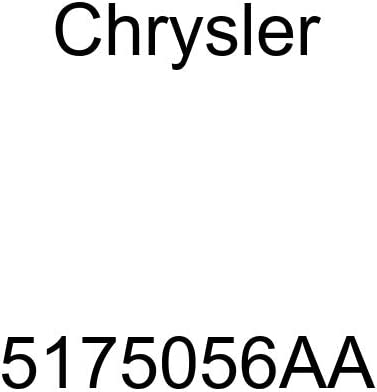 Genuine Chrysler 5175056AA Electrical Steering Control Module