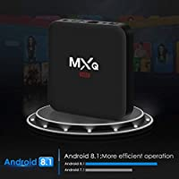 Android 8.1 TV Box, Superpow Smart TV Box Quad Core 2GB RAM+16GB ROM, 4K*2K UHD H.265, HDMI, USB*2, WiFi Media Player, Android Set-Top Box: Amazon.es: Electrónica