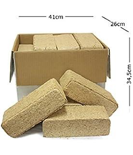 Briquetas de Madera – Caja de 23 kg
