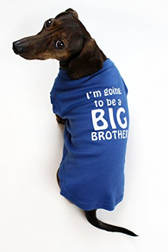 I'm Going to be a Big Brother Dog Shirt by Midlee (X-Large)