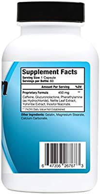 Atrafen Elite - Professional Formula Appetite Suppressant Fat Burner Diet Pill and Thermogenic for Fast Weight Loss. Works Great for Those on Keto Diets. 60 Count.