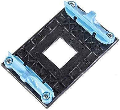 NMD&LR Placa Posterior De La CPU, Placa Posterior De Plástico para Ventilador De Radiador De Estante Inferior Adecuado para Soporte AM4 AMD Placa Base B350 X370 A320: Amazon.es: Electrónica
