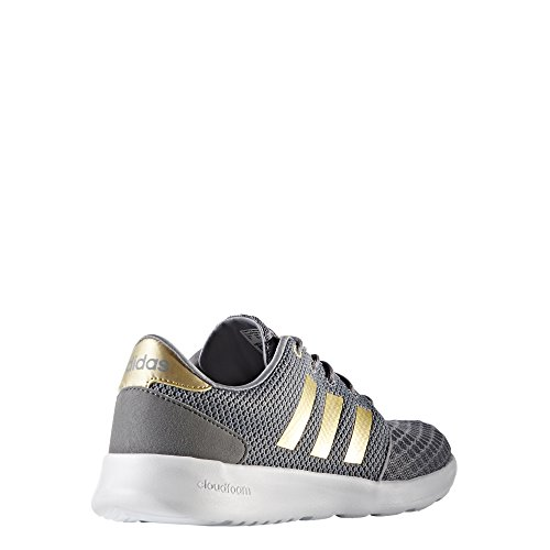 LMT grau Racer Laufschuh QT Damen gold CLOUDFOAM grau weiß W adidas Freizeit 0x1qS1