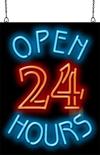 Open 24 Hours Neon Sign by Jantec Sign Group (Image #2)