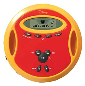 Disney by memorex dcd6000 c portable cd player for Classic house cd