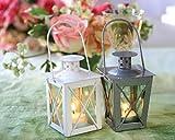 Kate Aspen 14006SV Luminous Mini Lanterns, Silver