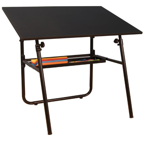 Home Office Ultima Fold-A-Way with Tray Black Base